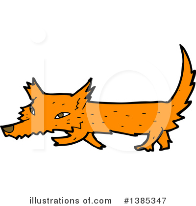 Fox Clipart #1385347 by lineartestpilot