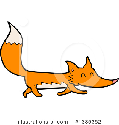 Fox Clipart #1385352 by lineartestpilot