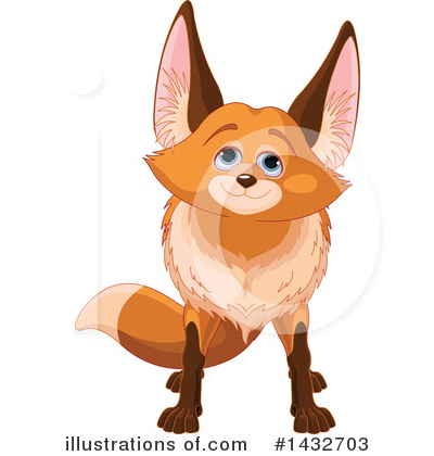 Fox Clipart #1432703 by Pushkin