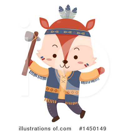 Fox Clipart #1450149 by BNP Design Studio