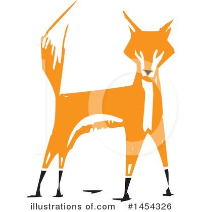 Fox Clipart #1454326 by xunantunich