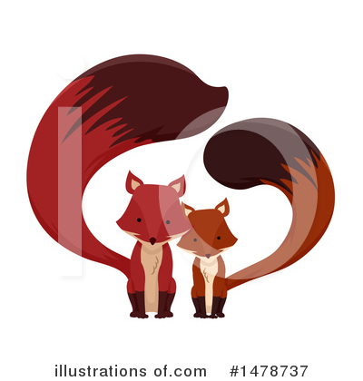 Fox Clipart #1478737 by BNP Design Studio