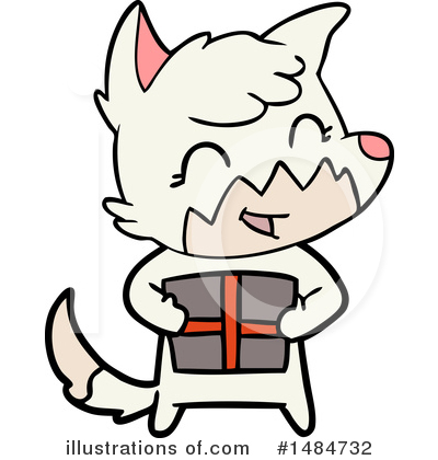 Royalty-Free (RF) Fox Clipart Illustration by lineartestpilot - Stock Sample #1484732