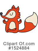 Fox Clipart #1524884 by lineartestpilot