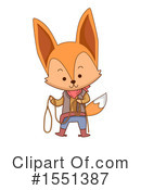 Fox Clipart #1551387 by BNP Design Studio