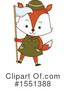 Fox Clipart #1551388 by BNP Design Studio