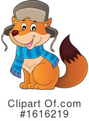 Fox Clipart #1616219 by visekart