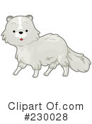 Royalty-Free (RF) Fox Clipart Illustration #230028