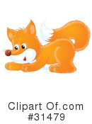 Royalty-Free (RF) Fox Clipart Illustration #31479