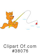 Royalty-Free (RF) Fox Clipart Illustration #38076