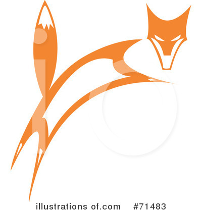 Fox Clipart #71483 by xunantunich