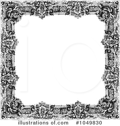 Royalty-Free (RF) Frame Clipart Illustration by BestVector - Stock Sample #1049830