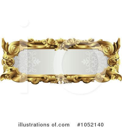 Royalty-Free (RF) Frame Clipart Illustration by AtStockIllustration - Stock Sample #1052140