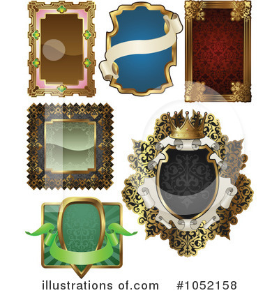 Royalty-Free (RF) Frame Clipart Illustration by AtStockIllustration - Stock Sample #1052158