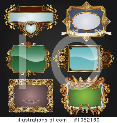 Royalty-Free (RF) Frame Clipart Illustration by AtStockIllustration - Stock Sample #1052160