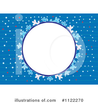 Snowflakes Clipart #1122270 by Cherie Reve