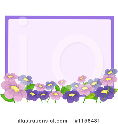 Flower Clipart #1158431 by Graphics RF