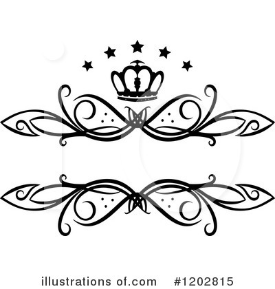 Royalty-Free (RF) Frame Clipart Illustration by Vector Tradition SM - Stock Sample #1202815