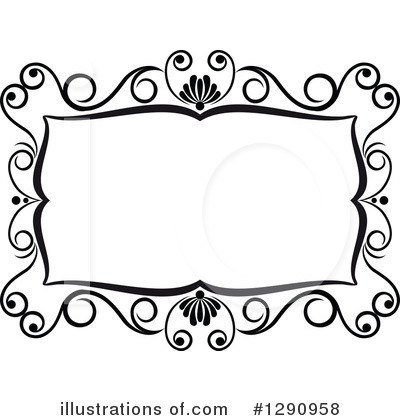 Royalty-Free (RF) Frame Clipart Illustration by Vector Tradition SM - Stock Sample #1290958