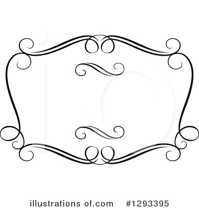 Royalty-Free (RF) Frame Clipart Illustration by Vector Tradition SM - Stock Sample #1293395