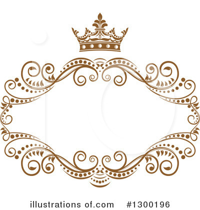 Royalty-Free (RF) Frame Clipart Illustration by Vector Tradition SM - Stock Sample #1300196