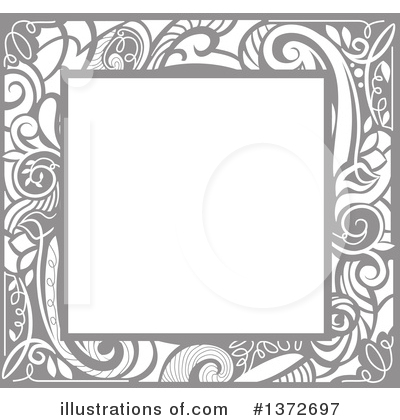 Royalty-Free (RF) Frame Clipart Illustration by BNP Design Studio - Stock Sample #1372697