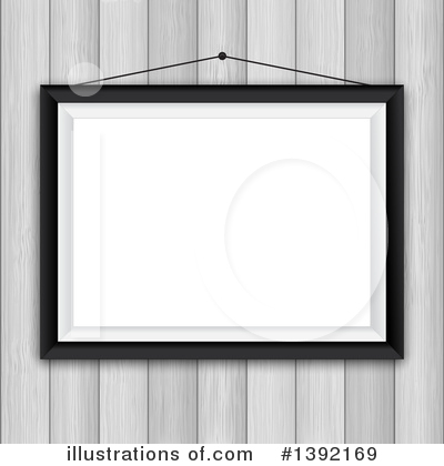 Picture Frame Clipart #1392169 by KJ Pargeter