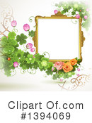 Royalty-Free (RF) Frame Clipart Illustration #1394069