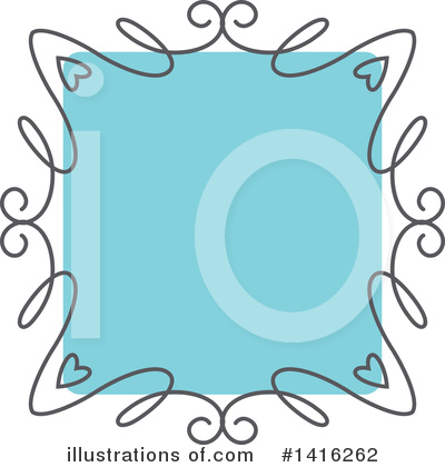 Royalty-Free (RF) Frame Clipart Illustration by KJ Pargeter - Stock Sample #1416262