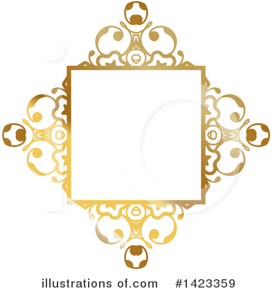 Royalty-Free (RF) Frame Clipart Illustration by KJ Pargeter - Stock Sample #1423359