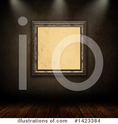 Picture Frame Clipart #1423384 by KJ Pargeter