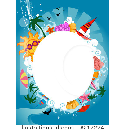 Beach Clipart #212224 by BNP Design Studio