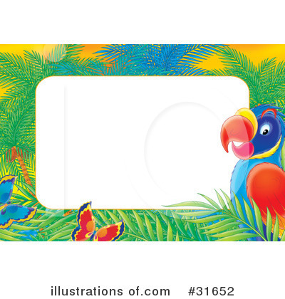 Parrot Clipart #31652 by Alex Bannykh