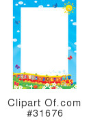 Royalty-Free (RF) Frame Clipart Illustration #31676
