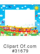 Royalty-Free (RF) Frame Clipart Illustration #31679