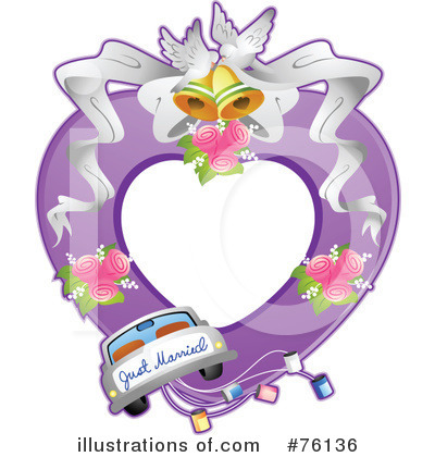 Just Married Clipart #76136 by BNP Design Studio