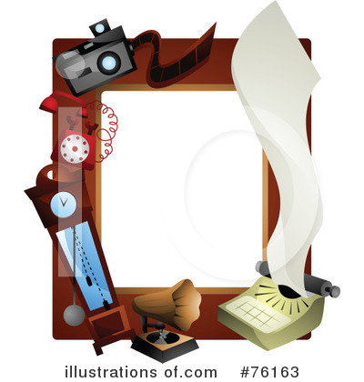 Royalty-Free (RF) Frame Clipart Illustration by BNP Design Studio - Stock Sample #76163