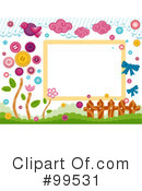 Royalty-Free (RF) Frame Clipart Illustration #99531