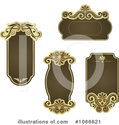Royalty-Free (RF) Frames Clipart Illustration by Vector Tradition SM - Stock Sample #1066621