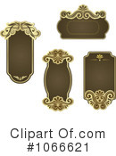 Royalty-Free (RF) Frames Clipart Illustration #1066621