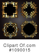 Royalty-Free (RF) Frames Clipart Illustration #1090015