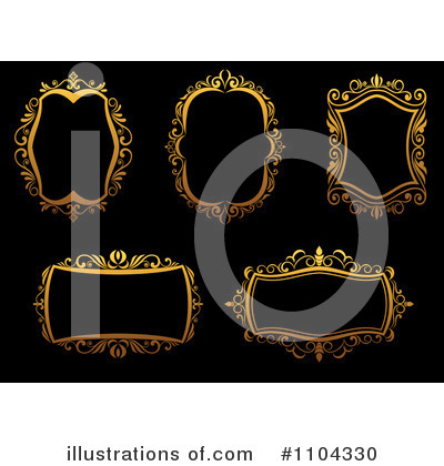 Frame Clipart #1104330 by Vector Tradition SM