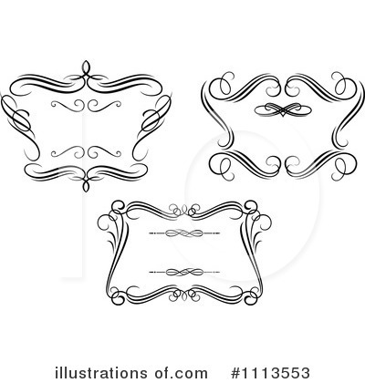 Royalty-Free (RF) Frames Clipart Illustration by Vector Tradition SM - Stock Sample #1113553