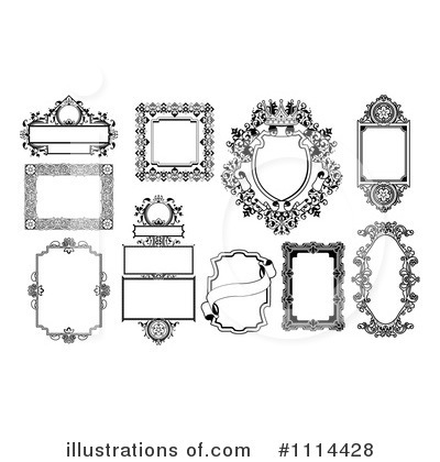 Frame Clipart #1114428 by AtStockIllustration