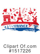 France Clipart #1517226 by Domenico Condello