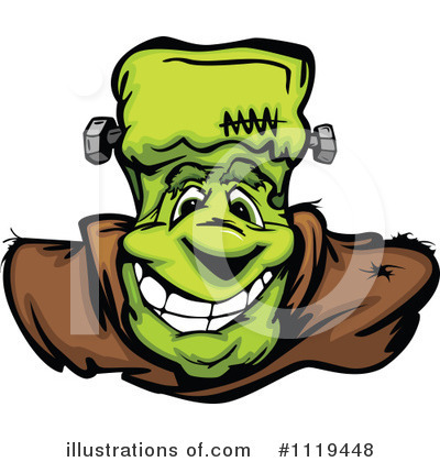 Frankenstein Clipart #1119448 by Chromaco