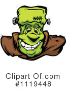 Royalty-Free (RF) Frankenstein Clipart Illustration #1119448