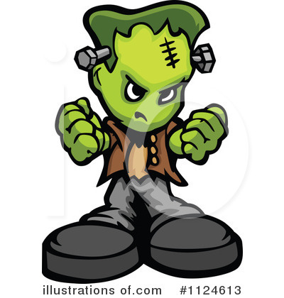 Frankenstein Clipart #1124613 by Chromaco