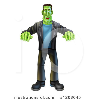 Zombie Clipart #1208645 by AtStockIllustration