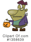 Frankenstein Clipart #1358639 by toonaday